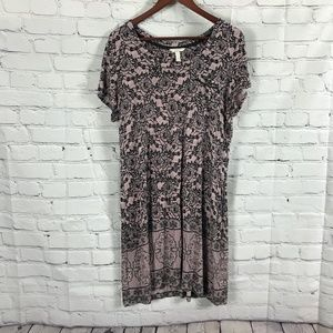 SOMA Rayon T-shirt Dress